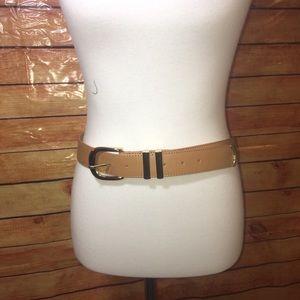 Ann Taylor Tan genuine leather belt